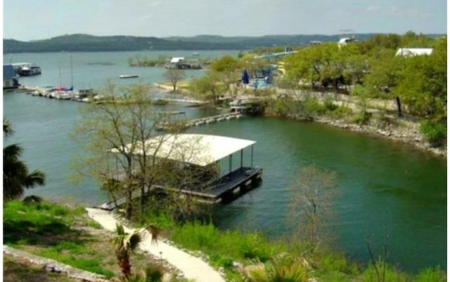 View of our boat dock