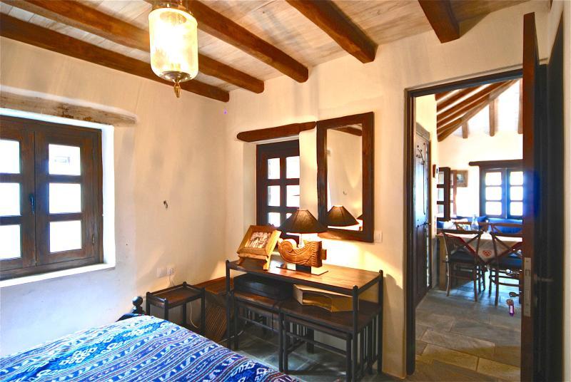 Das Master-Schlafzimmer im Erdgeschoss