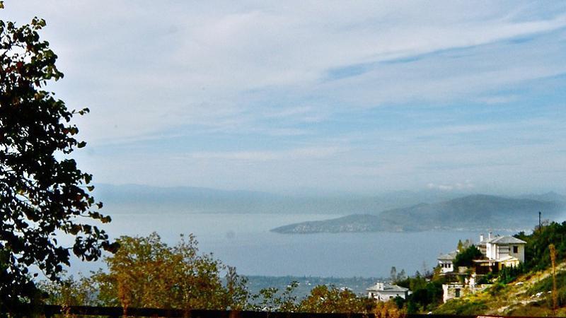 Schön mit Blick auf den Pagasitikos Bucht gesichtet