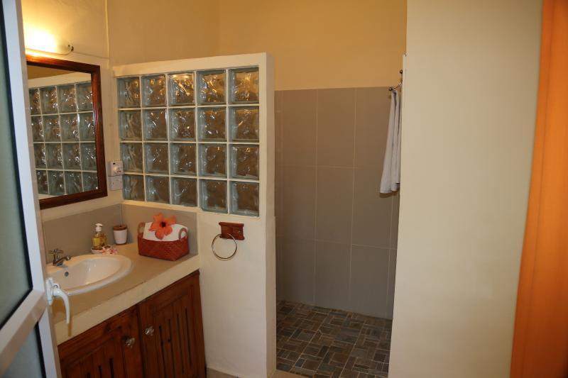 Cuarto de baño privado con ducha
