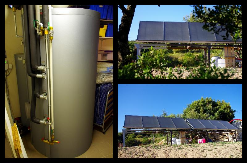 NEW 2015: Solar panels to benefit from every drop of sunshine. Enjoy a comfortable pool temperature