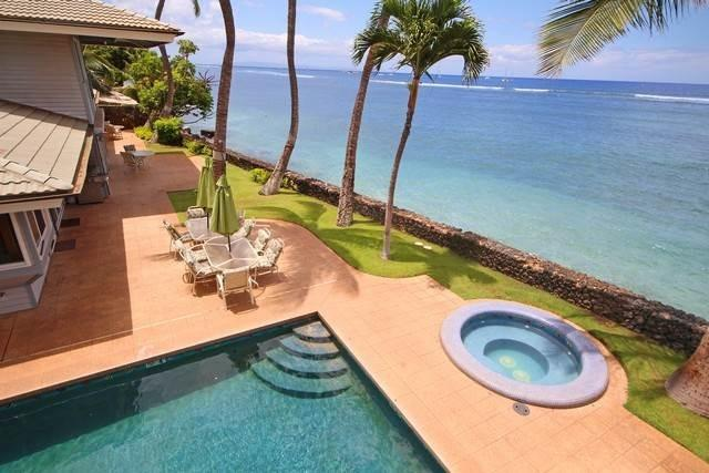 Azul ocean and relaxing by the pool Go ahead Dive into our Hawaii Paradise!