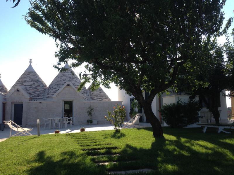 'Trulli I Quattro Pini' casa vacanze Martina Franca con piscina privata, holiday rental in Martina Franca