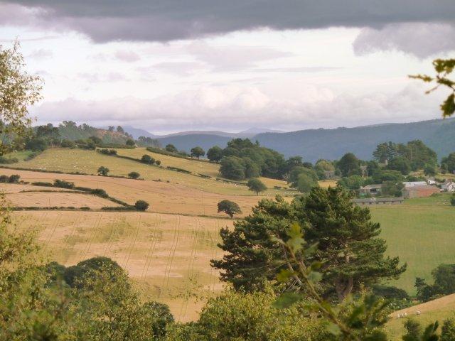 Views across Snowdonia from Tan y Graig