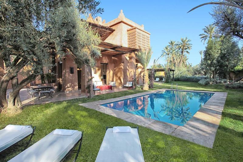 Villa Lankah Marrakech - The facade