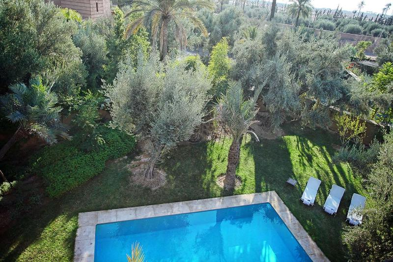 Villa Lankah Marrakech - the swimming pool