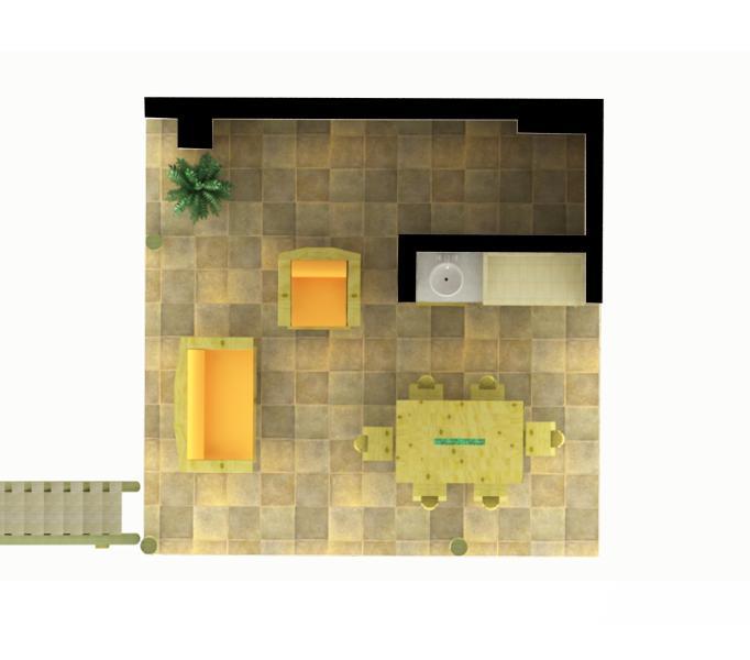 La Amistad Cottages #5 Unit First Floor