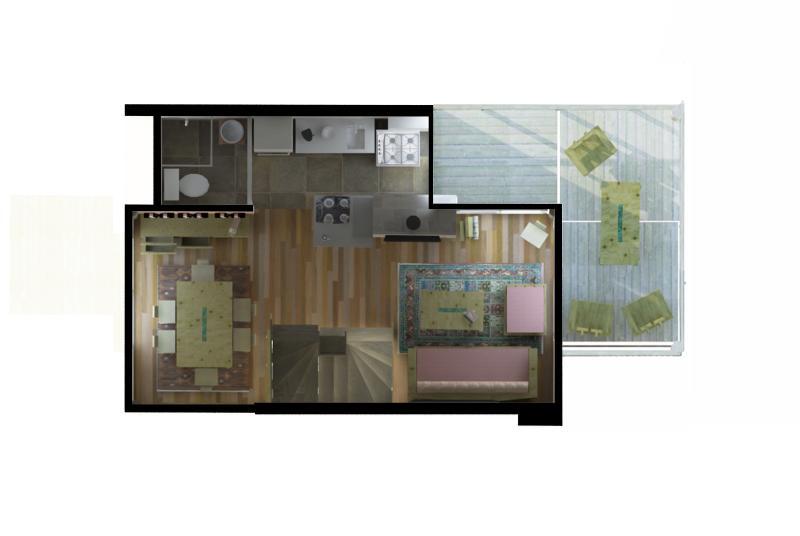 La Amistad Cottages #5 Unit Second Floor