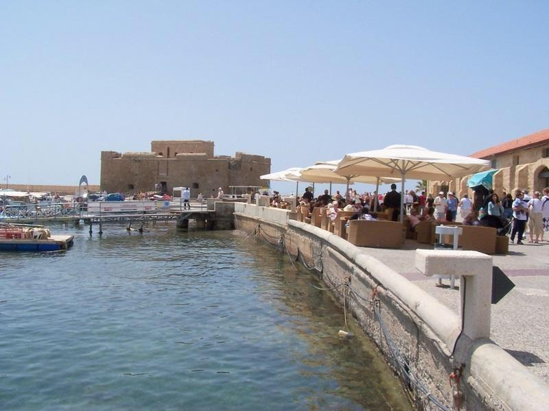 Paphos ancient harbour with wonderful restaurants and coastal path