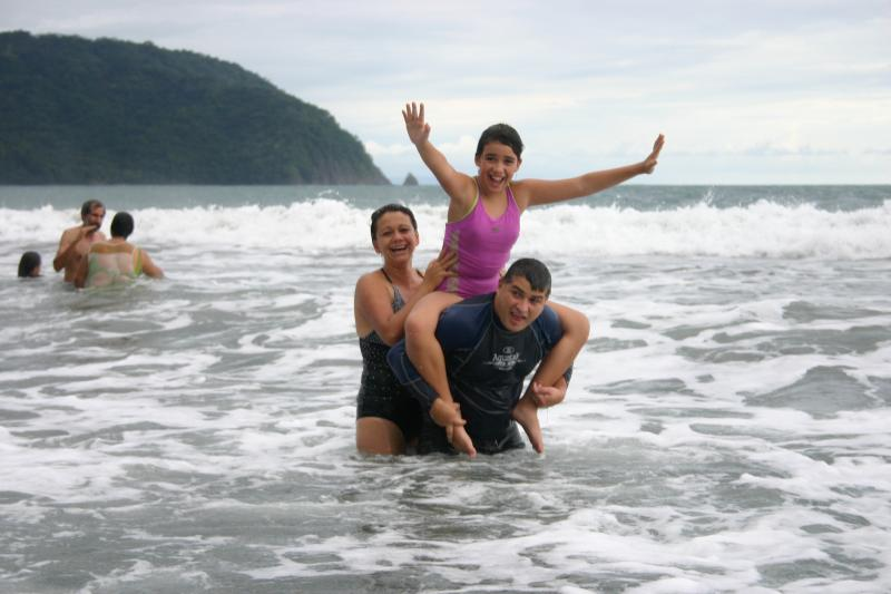 Fun at the beach... only 300 meters from the Villa