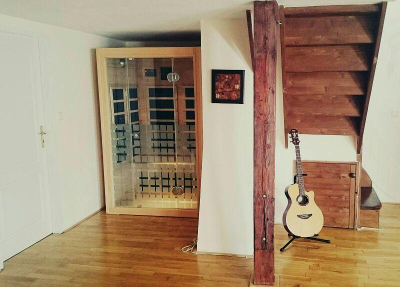 Infra rojo sauna