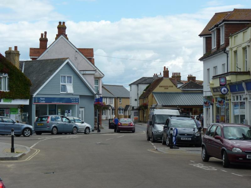 Charming village of Milford on sea (several pubs, cafes and fish & chip shop!)