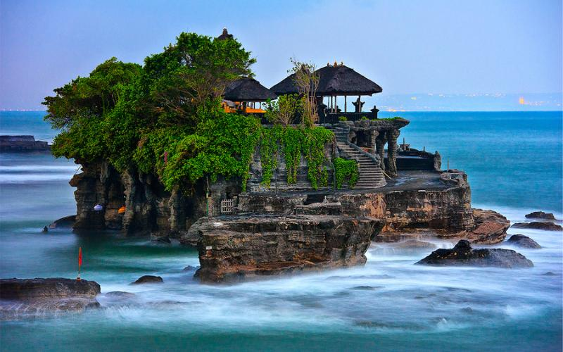 The infamous Tanah Lot temple is located only 20 minutes drive away!