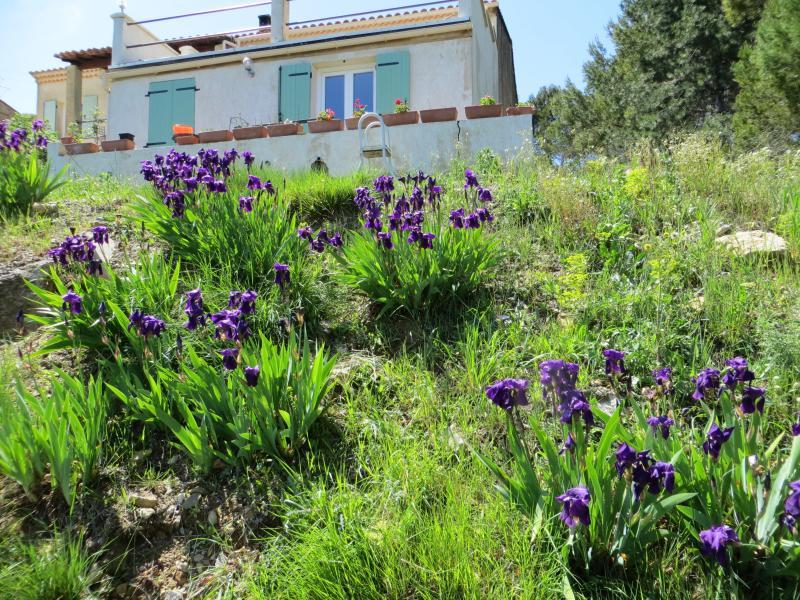 appartement  indépendant situé dans une maison ,avec piscine depuis mars2018., location de vacances à Uchaux
