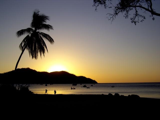 Sunset in Playas del Coco
