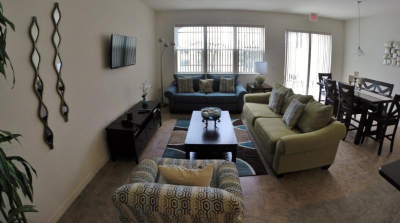 Sofá, muebles, comedor, en el interior, habitación