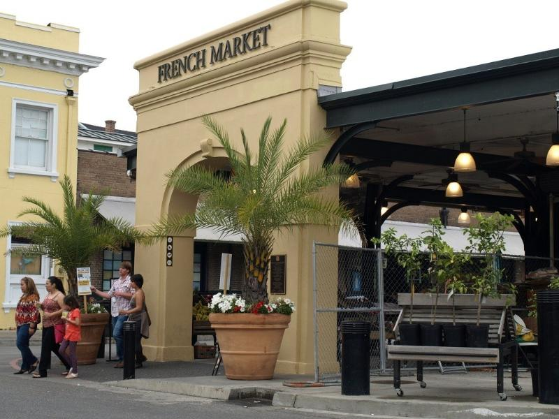 The French Market in the French Quarter is less than 15 minutes away via car or take the streetcar!