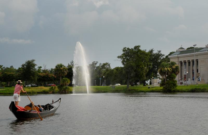 enjoy the many outdoor and water activities in City Park ~ beauty, trees, water and entertainment