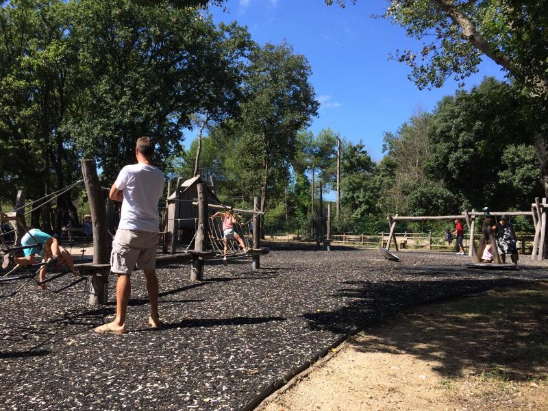 Children's playground at 'Eco Parc'