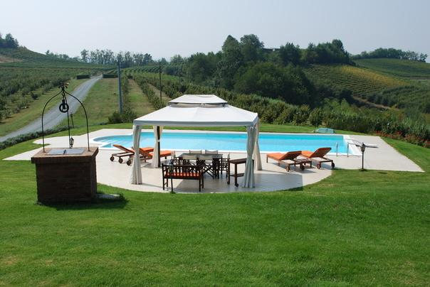 villa & pool in UNESCO's Monferrato, vakantiewoning in Gamalero