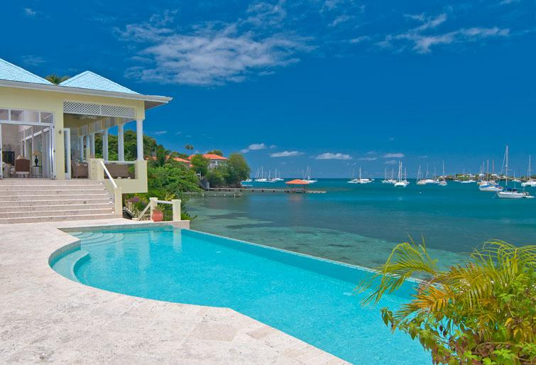 Grenada's Premier Beach Villa #1 on Trip Advisor, holiday rental in Lance aux Epines
