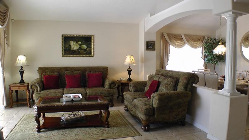 Spacious Villa Family Room
