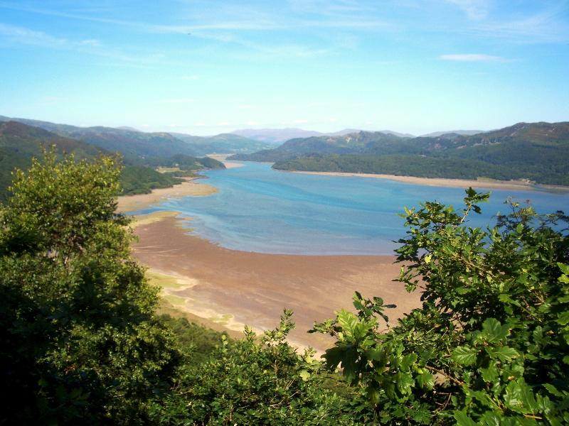 Mawddach Estuary from the 'Panorama Walk' above Barmouth
