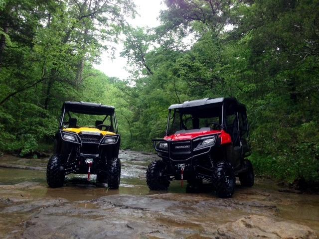 Either bring your own UTV/ATV or rent from us