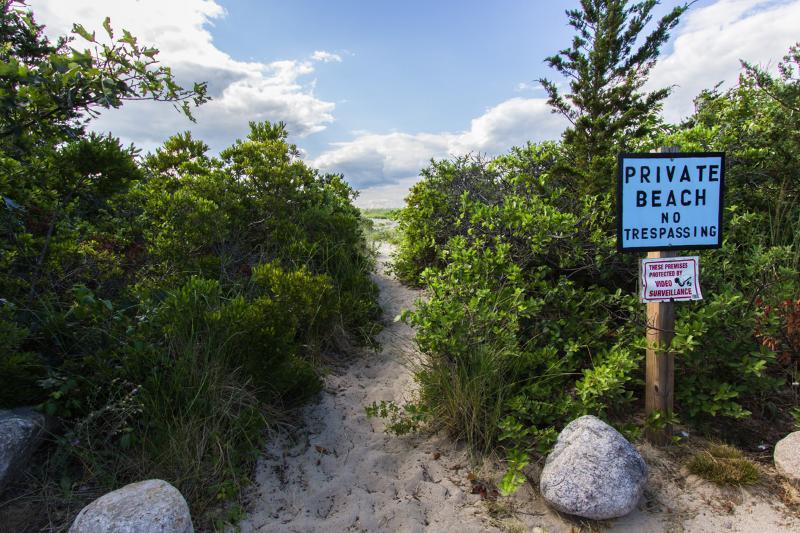Morrw path the North Shore Beach