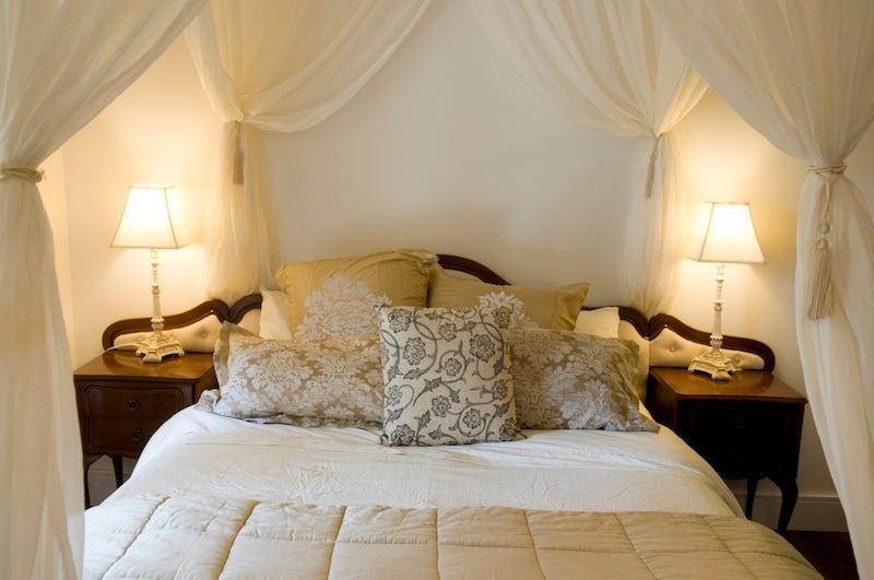 Romantic bedroom, honeymoon suite, blissful and luxurious