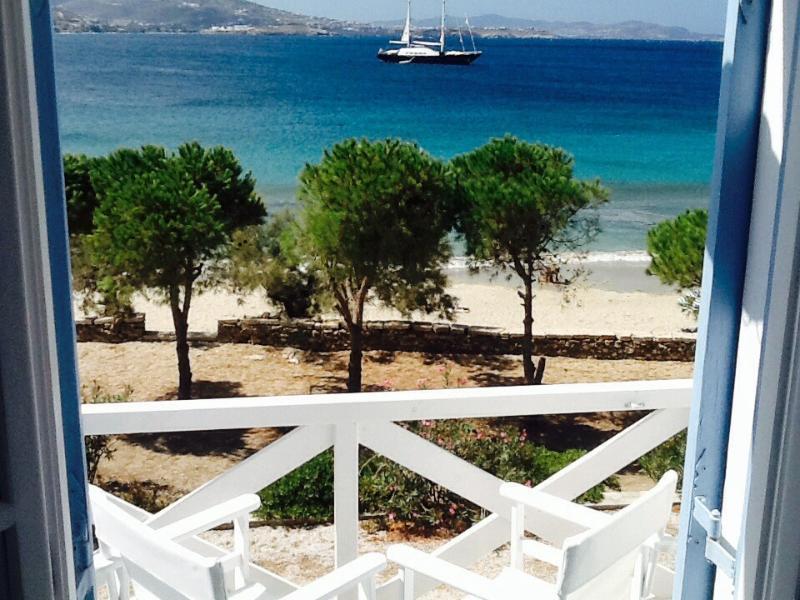 Welcome to Niriides Studios ~ Directly on Krios Beach,  Paros