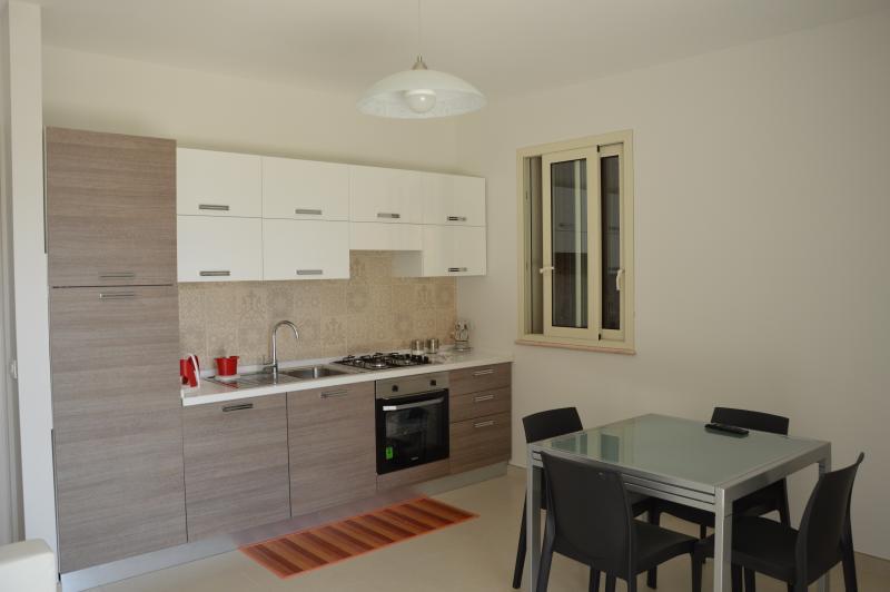 Cucina mini appartamento