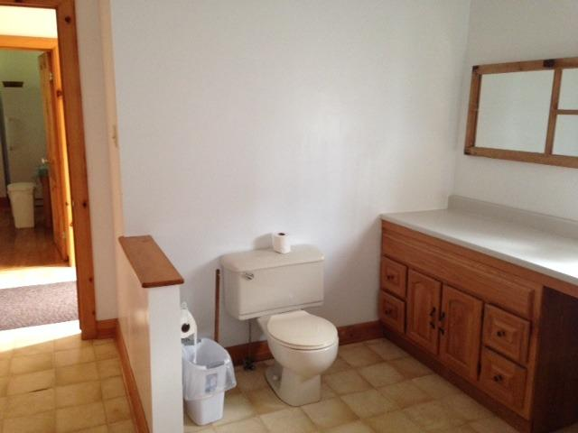 Another part of the downstairs bathroom.