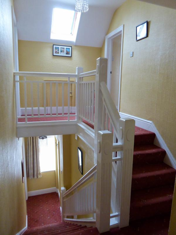 Staircase to bedrooms