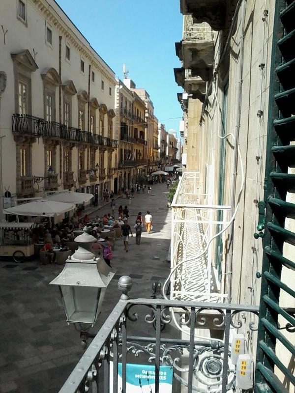 vista balcone Corso Viittorio Emanuele