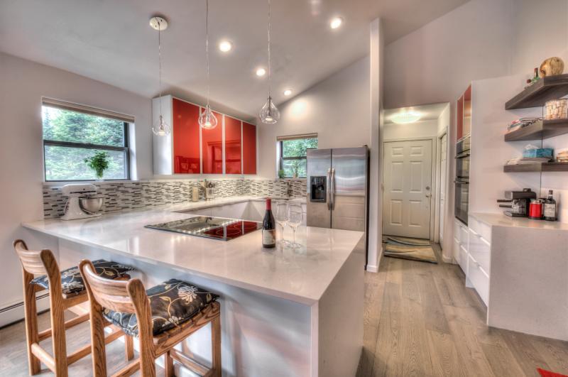 Cozinha com electrodomésticos Jenn Air