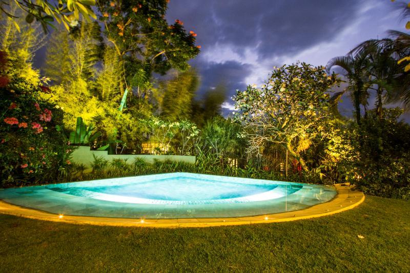 Night's pool view