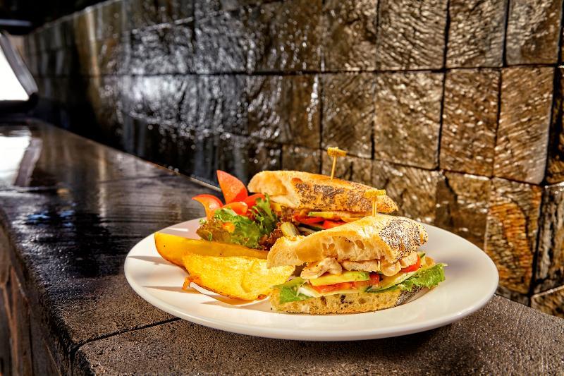 Cuisine at Tukad Pangi - Chicken Sandwich