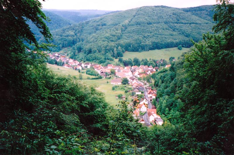 Lonau in the Harz National Park