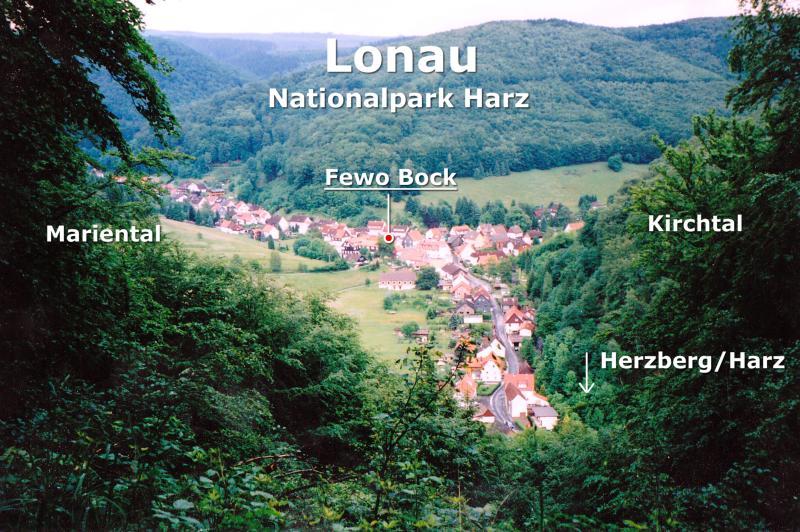 Lonau im Nationalpark Harz