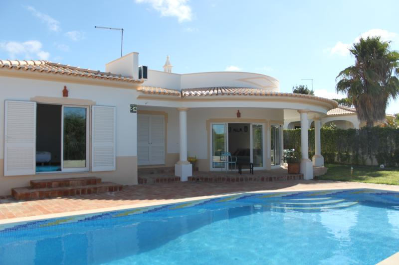 Main view of the Villa + private swimming pool