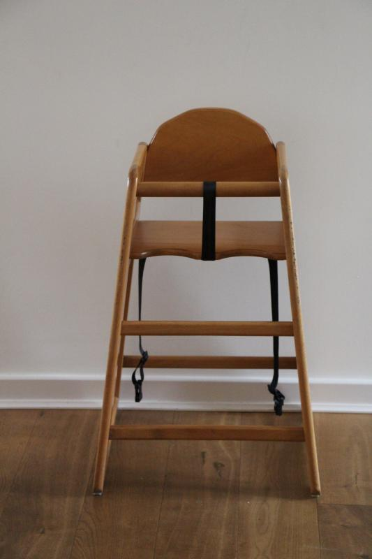 A highchair for our very welcome smaller guests.  A travel cot is also available