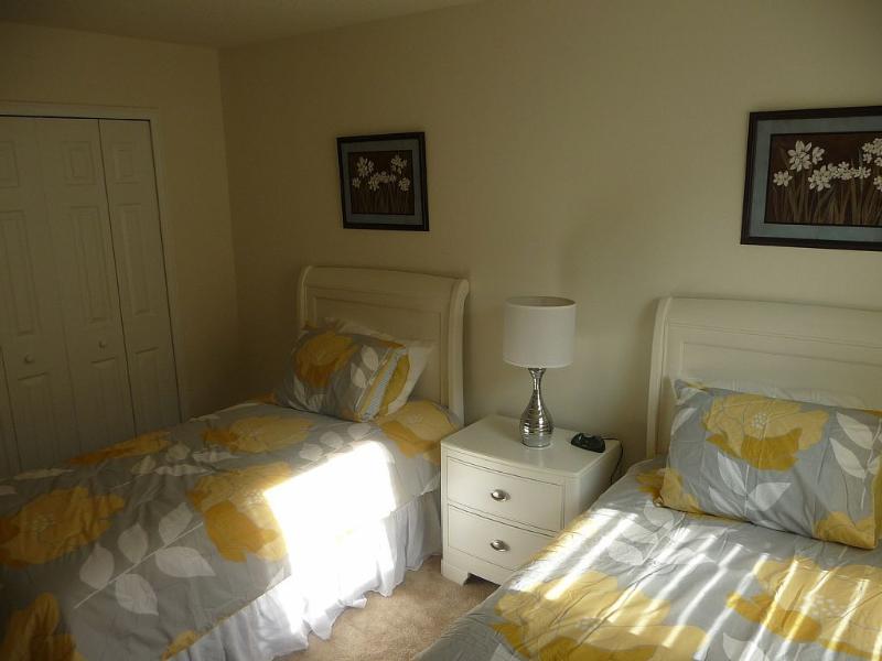 Twin Bedroom 5 with Juliet en suite.