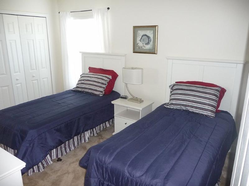 Twin Bedroom 6 with Juliet en suite.