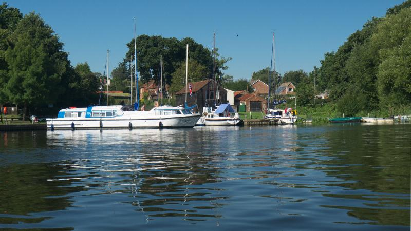 View from Barton Broad