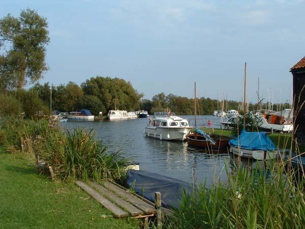 Barton Staithe, ideal para la pesca