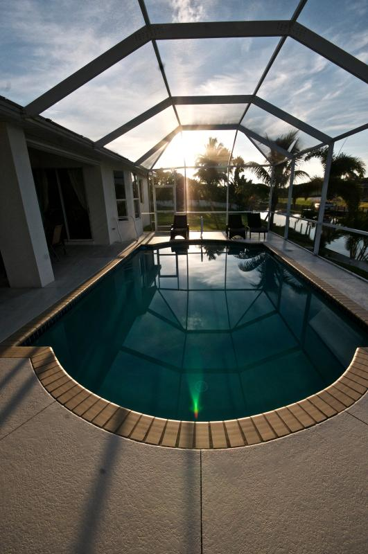 Doppia piscina riscaldata