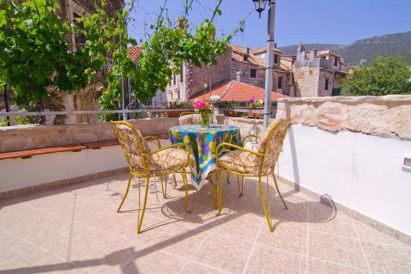 Large terrace. Historic downtown. Center. – semesterbostad i Island of Vis