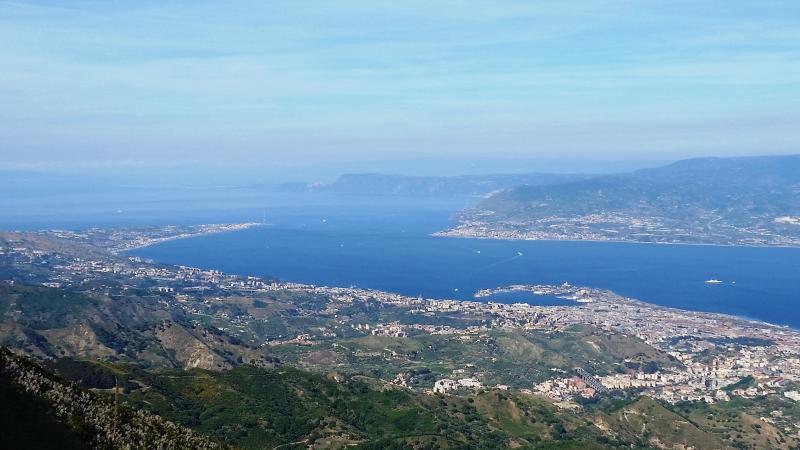 Panoramica Stretto di Messina