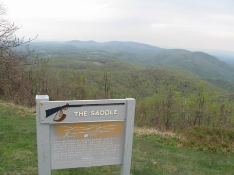 The Saddle - Trail at Rocky Knob
